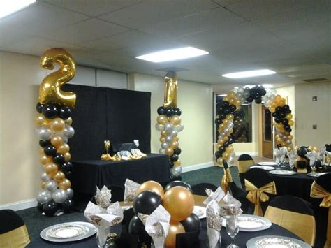 21st birthday centerpieces 21st birthday decorations hadyn ideas columns and 21st birthday