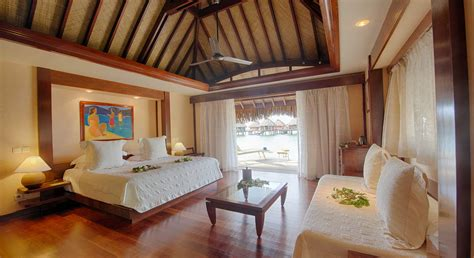 manava beach resort spa hotel moorea beach bungalow
