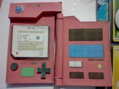 How To Make A Pokedex Out Of Paper - pokedex papercraft by darkrockerrus on deviantart