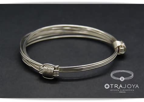 pulsera nudos corredizos pulsera 4 hilos plata con nudos corredizos africanos