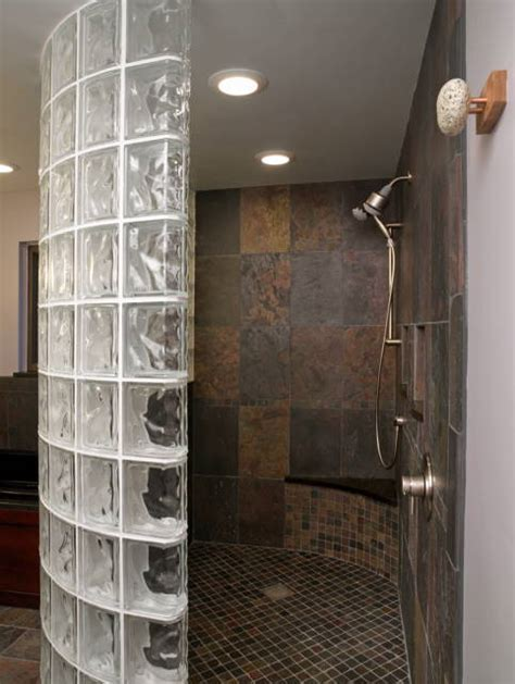 glass blocks for bathroom walls glass block showers from innovate building solutions on