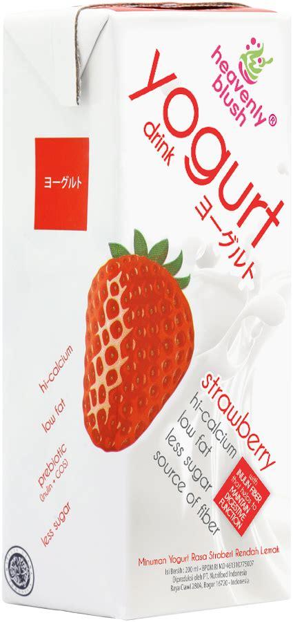 Heavenly Blush Yoguruto Strawberry Dan Blackcurrant 200 Ml 4 Pcs manfaat yoghurt heavenly blush untuk ibu segudang manfaat yoghurt blush untuk kehamilan