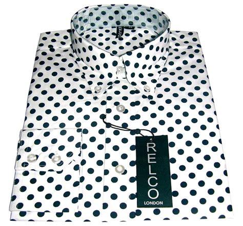 Polkadot Shirt shirt polka dot s white casual cxlondon