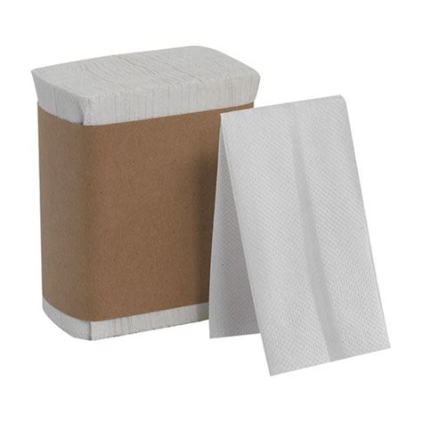 Folded Paper Napkins - fold napkins 1 ply 7 x 13 1 2 white unoclean