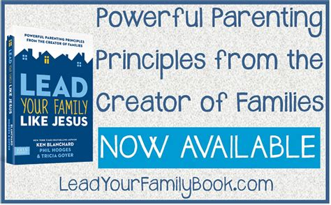 Lead Your Family Like Jesus lead your family like jesus book review ben and me