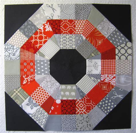 quilting block tutorial 100 days week of blocks octagonal orb block tutorial