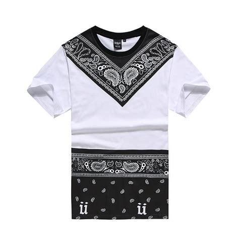 T Shirt Boy Swagg 2016 new bandana shirt swag clothes s t shirt hip hop fashion tees pyrex