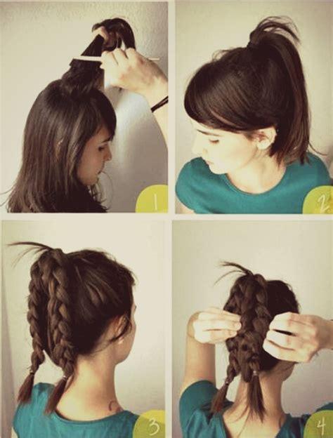Penjepit Rambut Pesta indah model rambut kepang untuk ke pesta