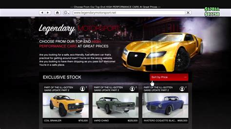 Auto Online by Gta 5 How To Buy Car Online Youtube