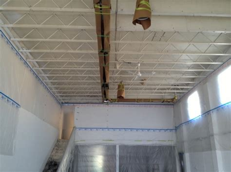Preparing Ceiling For Painting by Painting Vancouver A Glass Act Interior
