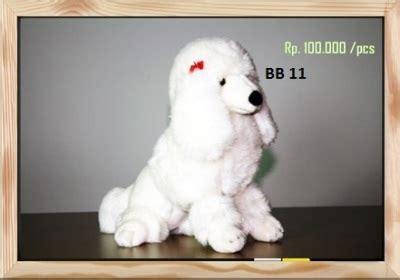 Boneka Anjing Coklat Sedang boneka