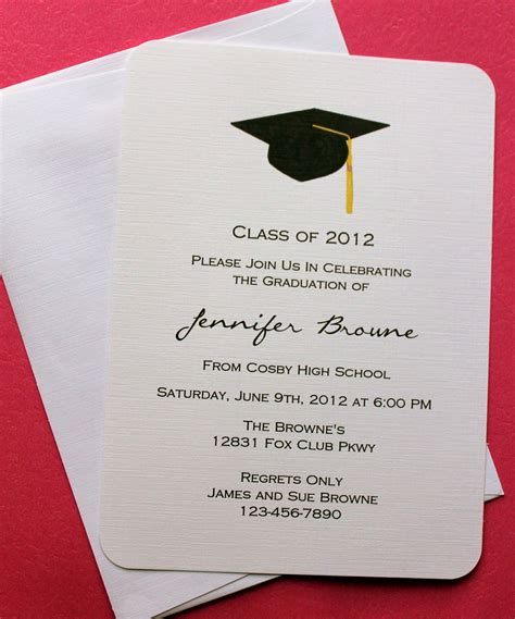 graduation card template docs graduation invitation template graduation invitation
