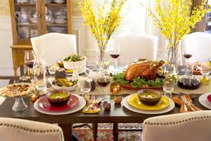 Martha Stewart Dining Table by 10 Tips For Decorating And Setting Your Thanksgiving Table
