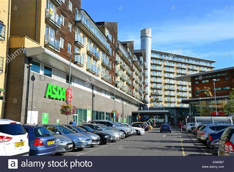 asda supermarket   centre car park feltham london