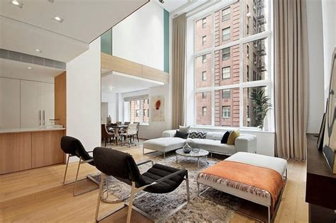 Modern Interior Design Of A Duplex Apartment In New York Interior Design Nyc Apartment