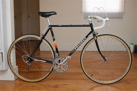 56cm Peugeot Iseran French Steel Road Bike