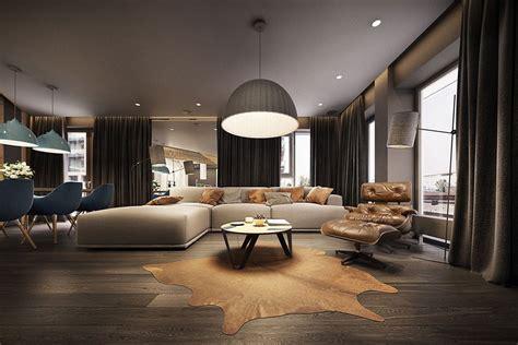 immagini di appartamenti moderni stupendo appartamento moderno elegante e drammatico