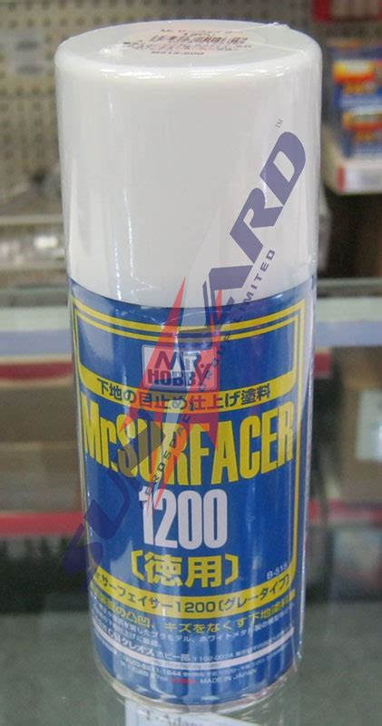Mr Surfacer 1200 B515 Spray mr surfacer 1200 spray 170ml by mr hobby gunze guz b515 b515