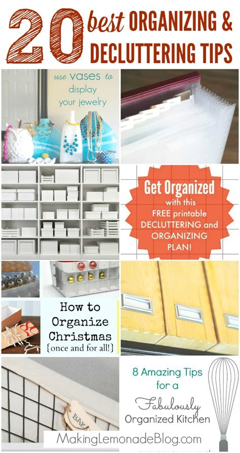 home organization tips to de clutter your living room top tips to organize declutter your home making lemonade
