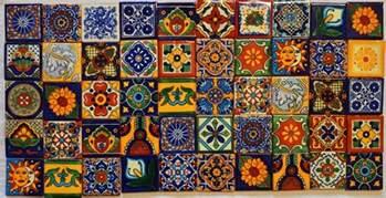 50 mexican talavera tiles 2x2 clay handmade folk art mosaic handpainted ebay