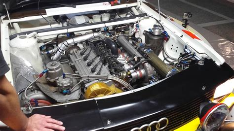 Audi S1 Motor by Audi Quattro S1 Working Engine