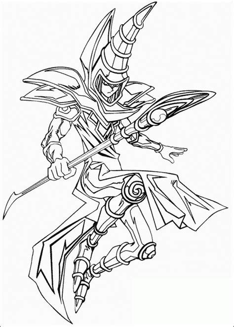 Yu Gi Oh Coloring Pages For Kids Coloringpagesabc Com Yugioh Coloring Page