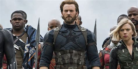 captain america infinity war chris evans won t return to mcu after avengers 4 cbr