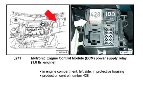 2005 vw jetta fuel relay location image details