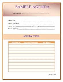 word templates agenda 1 best agenda templates