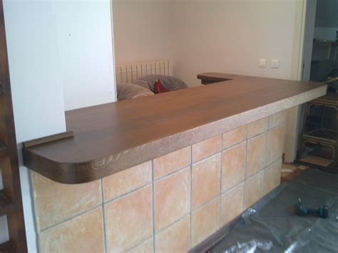 bar top stair treads and shelves made from pedunculate