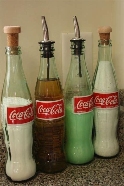 Home Decor With Wine Bottles by Riciclare Bottiglie Coca Cola Di Vetro 20 Idee Originali