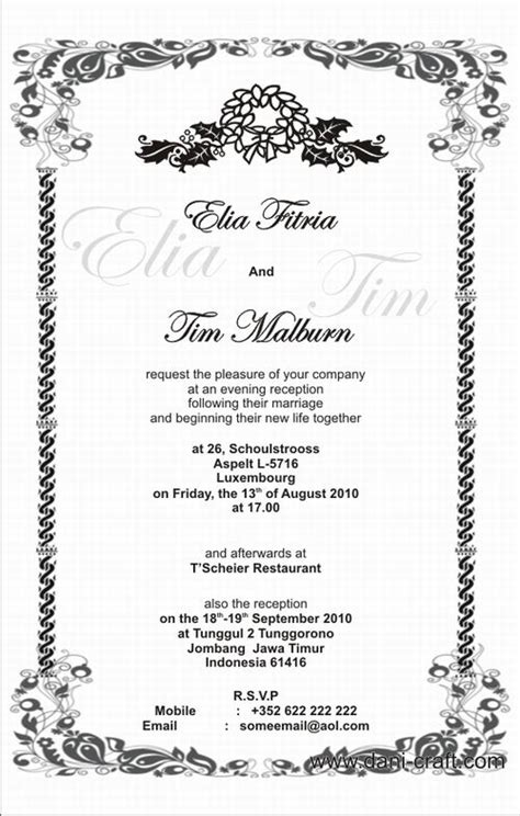 Wedding Quote Dan Artinya by Wedding Invitation Card Quotes Choice Image