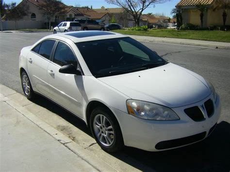 auto body repair training 2005 pontiac g6 transmission control sell used 2006 pontiac g6 base sedan 4 door 3 5l 2005 2007 05 06 07 pont in yucaipa california