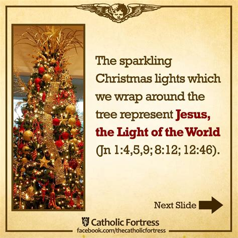 the christmas tree is a biblical symbol of christ
