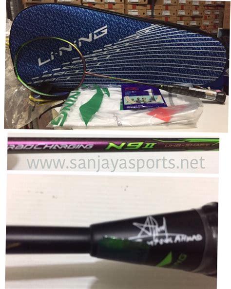 Raket Lining N9 Ii jual perlengkapan olahraga bulutangkis badminton