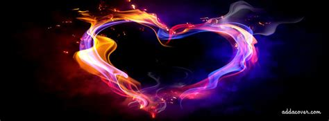 glowing heart facebook covers glowing heart fb covers glowing heart facebook timeline covers