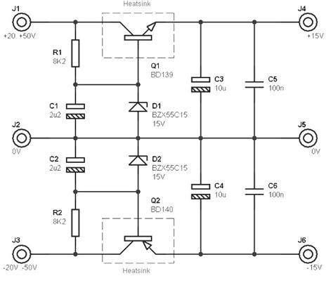 alimentatore 15v dual polarity dc power supply 15v power supply circuits