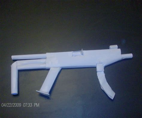 How To Make A Paper Mp5 - paper mp5