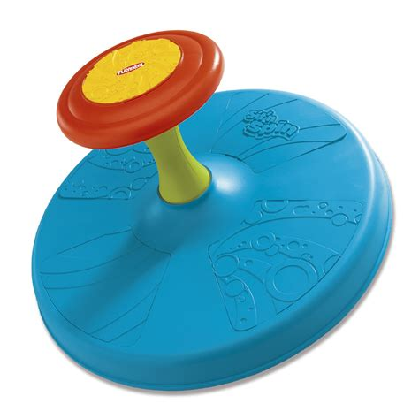 playskool play favorites classic sit  spin toy