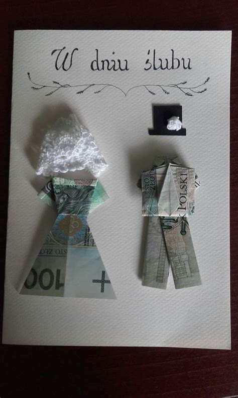Money Origami And Groom - 9 best images about dla ka綣dego on gifts