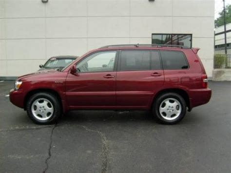 2001 toyota highlander paint colors