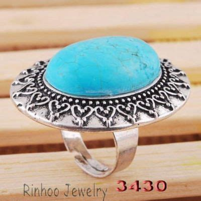 Anting Vintage Droplets Blue Gem Korean Style Casual antique jewelry hq price guide