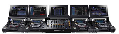 console cdj pioneer cdj tour1 and djm tour1 announced the djbox ie