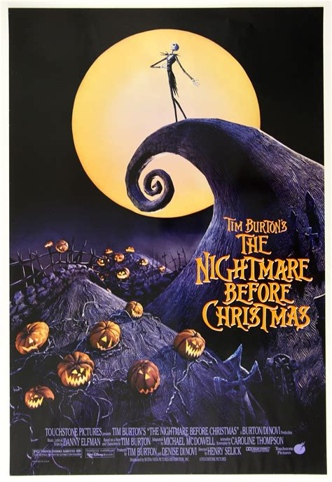 lot detail 1993 nightmare before christmas original