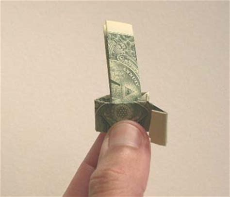 Money Origami Ring - money origami ring
