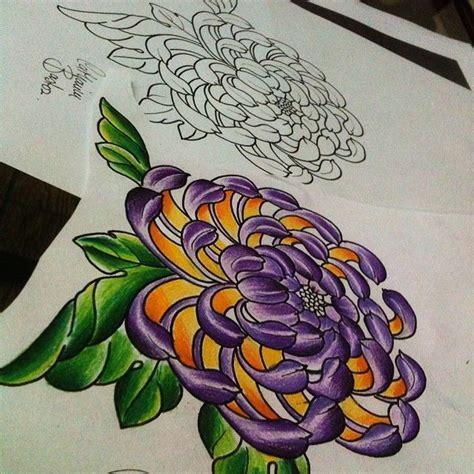 tattoo oriental dragão significado crisantemo tattoo pesquisa google flor pinterest