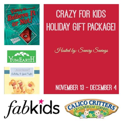 Giveaways For Kids - crazy for kids gift pack giveaway the bandit lifestyle