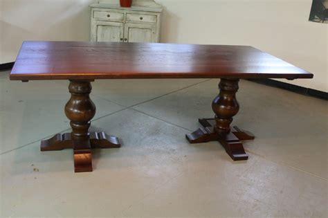 kitchen table pedestal base kitchen table with fluted pedestal base