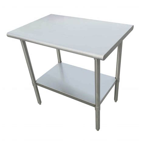 Stainless Steel Table L Sauber Stainless Steel Work Table 30l X 24w X 36h