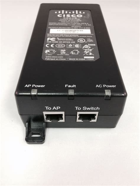 Cisco Aironet Power Injector Air Pwrinj4 cisco aironet air pwrinj4 poe30u 560g 30w 1000mbps power injector 1250